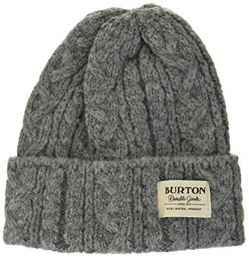 Burton(バートン) スノーボード ニット帽 メンズ ビーニー ニットキャップ ZOWIE BEANIE 2020-21年モデル gray heather 1sz fitall