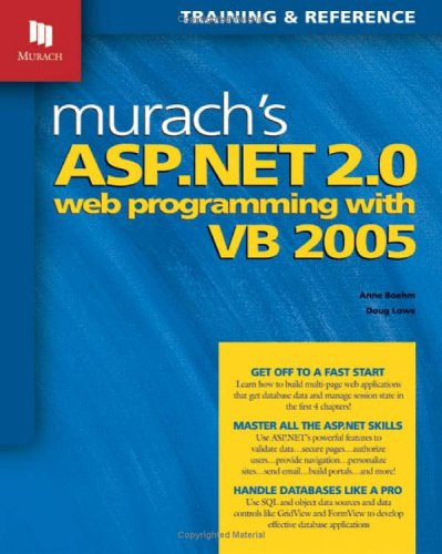 Murach's ASP.NET 2.0 Web Programming with VB 2005