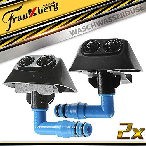 2x Waschwasserdüse Vorne Rechts Links für 9-3 YS3F Cabriolet Kombi Vectra C Caravan 2004-2011 12803973