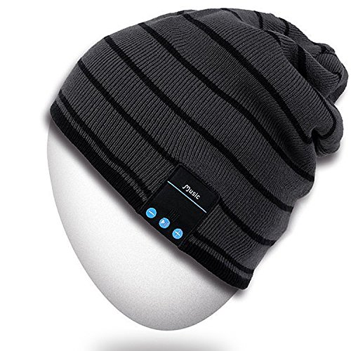 Rotibox Bluetooth Beanie Hat Wireless...