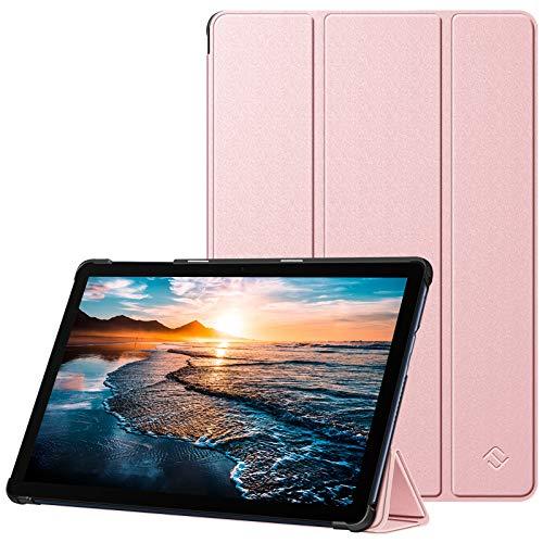 "FINTIE Custodia per Huawei MatePad T 10/T 10s 10"" 2020 - Slim Protettiva Case Cover in Pelle PU per Huawei MatePad T10/T10s 10.0 Tablet, Oro Rosa"