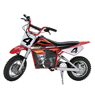 Razor MX500 Dirt Rocket Adult & Teen Ride On High-Torque Electric Motocross Motorcycle Dirt Bike, Speeds up to 15 MPH, Red from Razor