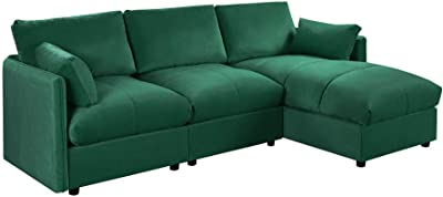 Amazon.com: FDW Sofa Sectional Futon Sofa Bed Living Room ...