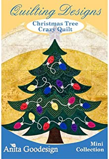 Anita Goodesign Christmas Tree Crazy Quilt Embroidery Designs