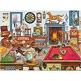 QWERDF 1000 Rompecabezas Pieza para Adultos, Colorido Animal Rompecabezas Juegos Novedosos para La Familia De Bricolaje Rompecabezas De Juguete Juego,D