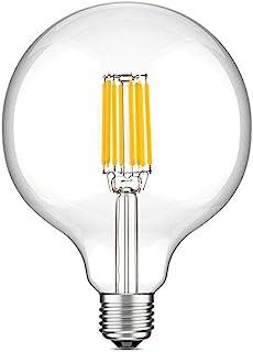 E-Led Bombilla LED 8 W globo filamento transparente efecto vintage