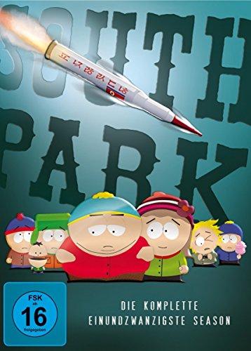 South Park: Die komplette einundzwanzigste Season [2 DVDs]