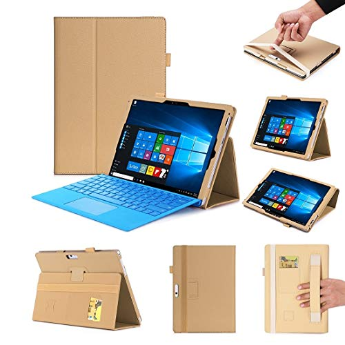 Tablet PC Cases WY-867A For Microsoft Surface Pro 7 2019 / Pro 6 2018 / Surface Pro 2017 / 5 / 4 / 3 12.3 inch Universal Matte Litchi Texture PU Leather Tablet PC Protective Cover with Keyboard Slot &
