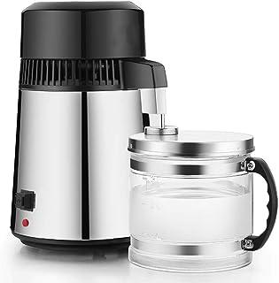Destilador de agua pura de acero inoxidable interior del filtro purificador de agua Destilador de agua con la botella de r...