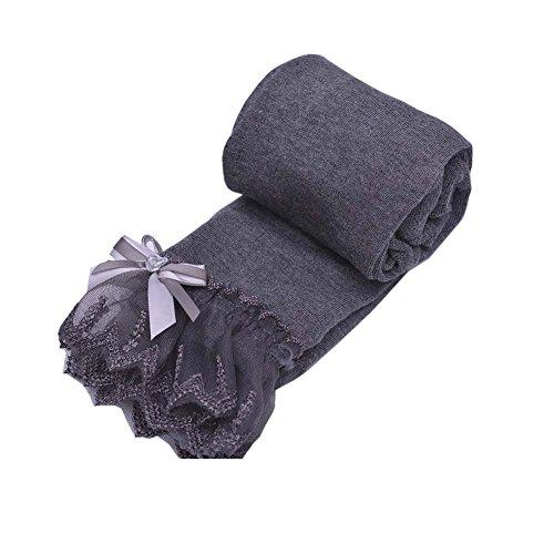 Black Temptation Sweet Lace Design Mädchen Hose Strumpfhose Leggings Mädchen Strümpfe Mädchen Strumpfhosen Great Gift für Kinder, D
