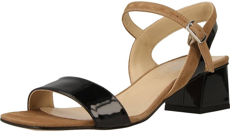 Cafè schwarz MLF526 Gilda Sandal IN IN IN PATENT und Suede  967a87