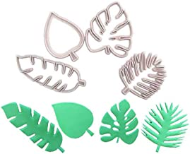 Afazfa💗💗Tropical Leaves Fondant Cake Mold Embossed Candy Biscuits Cookie Cutter