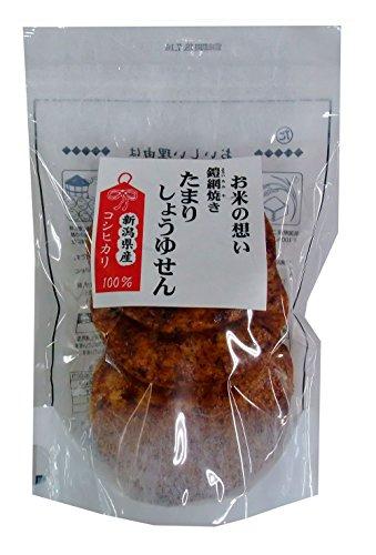 清雅園 お米の想い たまりしょうゆせん 6枚×3袋