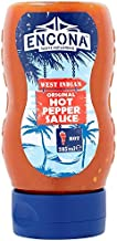 Encona West Indian Hot Pepper Sauce Original Squeezy Pack 285 ml(Pack of 6)