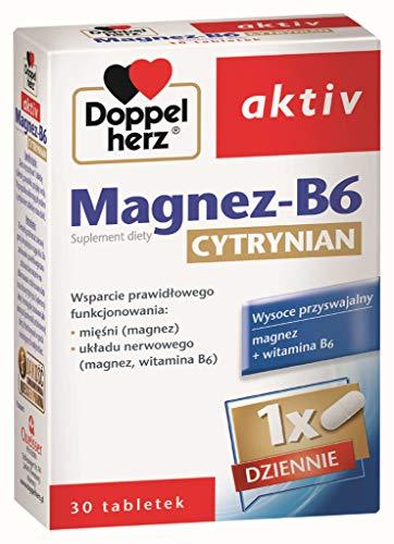Doppelherz Aktiv Magnesium-B6 Citrate 30 tab
