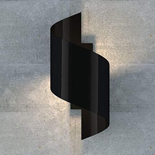 famlights Wandleuchte Tessa aus Metall, Schwarz, G9-Fassung, max. 20W | Wandlampe für Wohnzimmer, Schlafzimmer, Esszimmer | moderne Wohnzimmerlampe | Flurlampe Schlafzimmerleuchte Esszimmerlampe