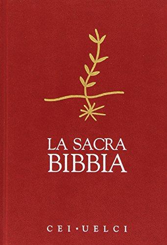 Sacra Bibbia. UELCI. Edizione ufficiale della CEI (sortiert Abdeckungen)