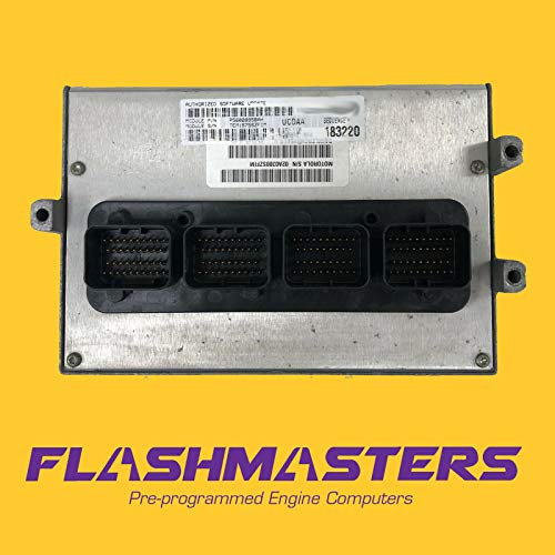 Flashmasters 2004 Compatible with Liberty 3.7L at Computer 56044208 ECM PCM ECU Programmed to Your VIN
