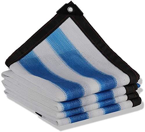ZXCVB Malla de malla para invernadero, protector solar, tela de malla con ojales 90% tasa de sombreado, tela de protección solar, pantalla de privacidad de malla (color: A, tamaño: 4 x 8 m)