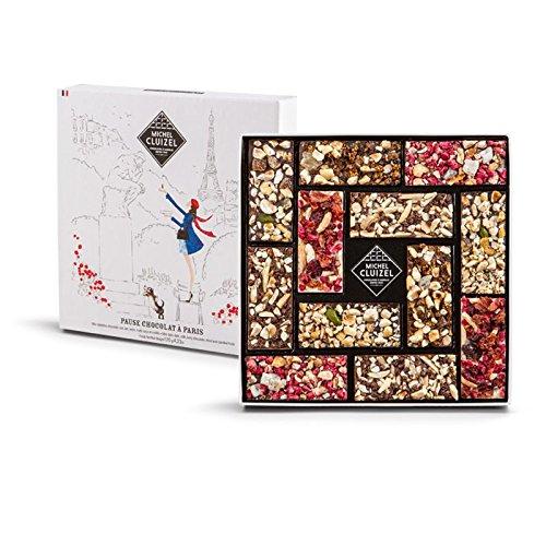 Michel Cluizel Schokolade Pause in Paris Dunkle Milch und Elfenbein Mini Schokoriegel - 1 x 120 Gramm