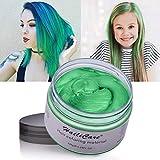 HailiCare 120g Grün Haarwachs Männer und Frauen Professionelle Haar Pomaden, Temporäre Haarfarbe...