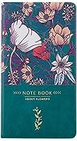 ビジネスノートブックDiary Journal Notepad Rured Paperノートブックジャーナル (Color : Green, Size : 1 set of 3 books)