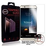 Ycloud Panzerglas Folie Schutzfolie Bildschirmschutzfolie für ZTE Axon 7 Mini (5.2Zoll) Screen Protector mit Festigkeitgrad 9H, 0,26mm Ultra-Dünn, Abger&ete Kanten