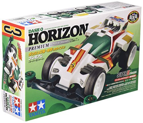 18073 - Tamiya Mini 4wd - Dash-0 Horizon (Super II Chassis)