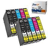 Jhaan 16XL Cartuchos de Tinta para Epson 16 XL Compatible con Epson WF-2010 WF-2510 WF-2520 WF-2530 WF-2540 WF-2630