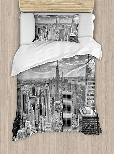 Ambesonne Lowest price challenge New York Duvet Cover Set NYC from Top Over Import Manhattan