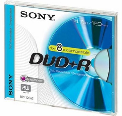 Sony DPR120 DVD-Rohling DVD+R (4,7 GB)