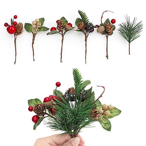 Flores De Navidad Para Decorar Rojas flores de navidad para decorar  Marca JPYH