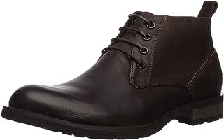حذاء الكاحل المقاوم للماء للرجال من Steve Madden Sonos, (Brown Suede), 41 EU