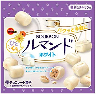 ブルボン ひとくちルマンドホワイト 47g ×10袋
