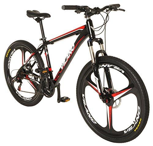 """Vilano 26"""" Mountain Bike Ridge 2.0 MTB 21 Speed with Disc Brakes"""