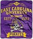 East Carolina Pirates 'Label' Raschel Throw Blanket, 50' x 60'