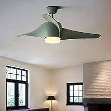 Nordic macaron propeller retro kroonluchter volledige diameter 120cm lamp diameter 12cm afstandsbediening schakelaar fan k...