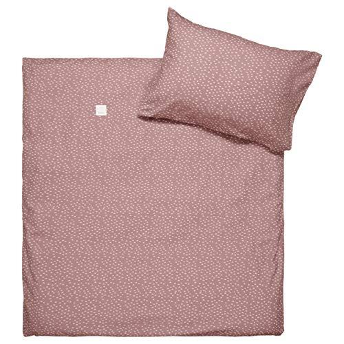 Koeka - Kinder Bettbezug Malin - Bettbezug Für Kinderbett - Aus Weicher Und Luftiger Baumwolle - Pflaume - 100 X 135 Cm