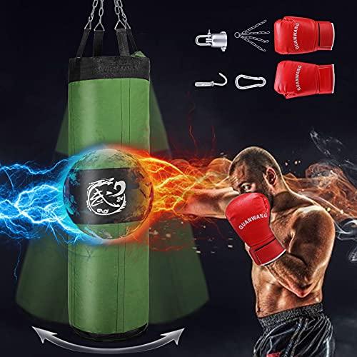GJCrafts Kampfsport Boxsack 150cm mit 1...