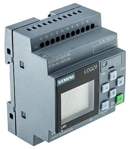 Preisvergleich Produktbild Siemens stlogo Logico 24 CE Display PU / I / O Modul 24 V / 24 V / 24 V