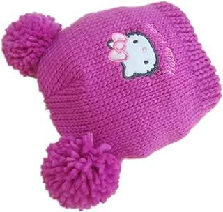 hello kitty pom pom hat
