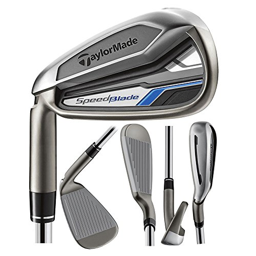 TaylorMade Men's SpeedBlade Irons Complete Set