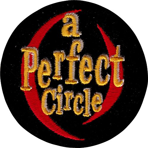 A Perfect Circle - Round Logo Embroidered Iron On or Sew On Patch