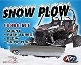 KFI UTV 66' Snow Plow Kit Combo - Polaris Ranger 400 500 570 700 800 2009-2020