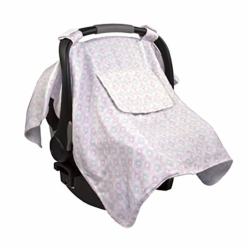 Summer Muslin Little Looks Car Seat Cover, Medallion Days