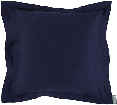 Bassetti Housse de Coussin, Coton, Bleu, 70 x 90 cm