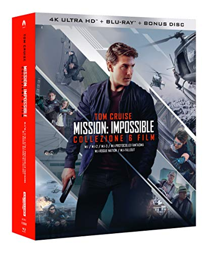 Mission Impossible Collection (6 Blu-Ray 4K Ultra HD+7 Blu-Ray) [Italia] [Blu-ray]