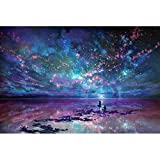 Puzzle Wooden Jigsaw Fantasy Starry Ocean 4000/5000/6000 Pieces Adults Super Difficult Toys Game Gift 0312 (Color : 3000 Pieces)