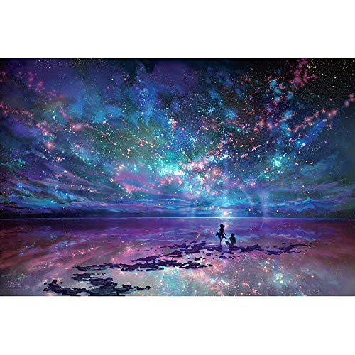Wooden Jigsaw Puzzles Fantasy Starry Ocean 4000/5000/6000 Pieces Adults Super Difficult Toys Puzzles Game Gift 0312 (Color : 6000 Pieces)