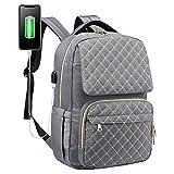 LOVEVOOK Laptop Backpack Womens School Backpack Spacious Laptop Bag Water-Resistant Comput...